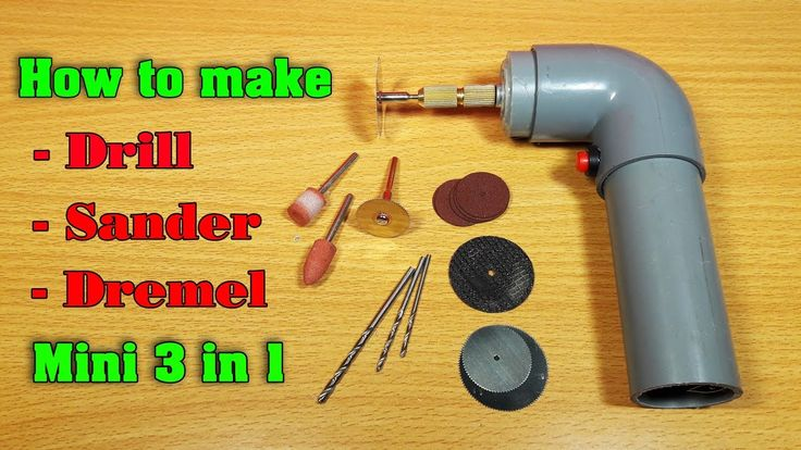 How to make a Powerful Dremel Multi Tool at Home