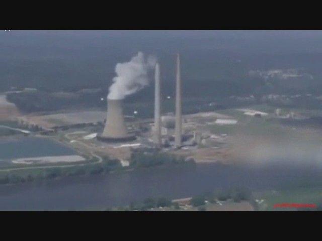 Ovnis em usinas nucleares