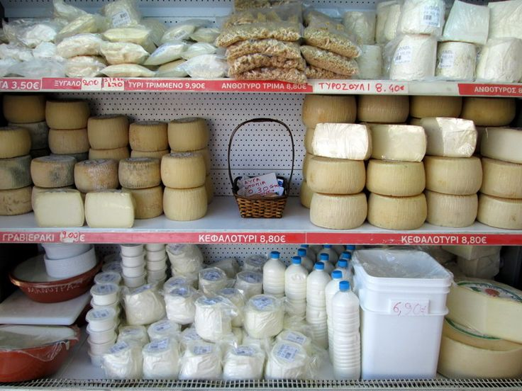 cheese booth in the village