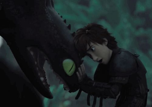 """DELETED SCENE IN HOW TO TRAIN YOUR DRAGON 2!! Oh my gawd them feels! ;-; And it looks like Hiccup is saying: """"Please come home."""" *cries*"""