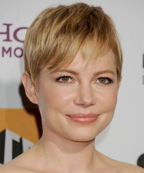 Michelle Williams Hairstyle – Casual Short Straight | Hairstyles 2014