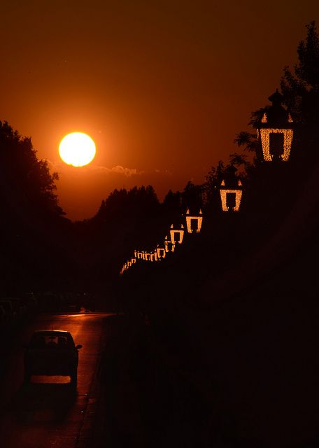 "♂ Golden sunset ""l'ora d'oro - the golden hour"" by Fulvio Petri"
