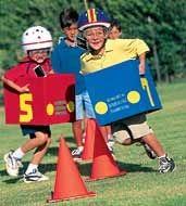 Backyard Birthday Party ideas - Cardboard Car Races #forthekids #carlovers #futurehoseltoncustomers