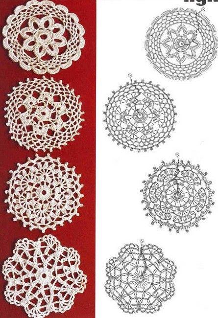 mandala crochet (17)                                                                                                                                                                                 Más