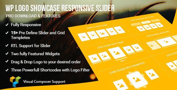 WP Logo Showcase Responsive Slider Pro . Many CMS site needs to display logo slideshow responsive slider/carousel on their