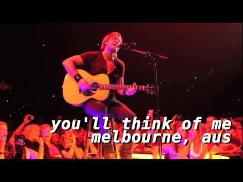 Tour Flashback: You'll Think of Me - Melbourne, Australia