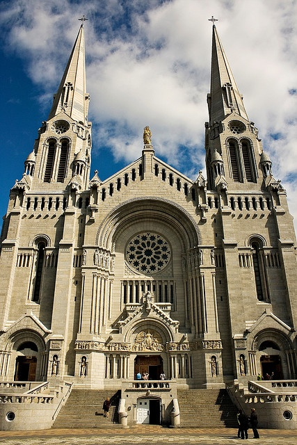 St. Anne de Beaupre in Quebec, Cananda