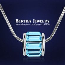 Fashion Luxury Jewelry Joias Austrian Crystal Necklace Bisuteria Joyeria For Men Women Wholesale Costume Jewerly 2014 Wholesale