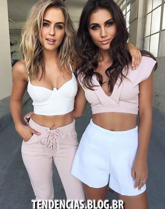 Top Cropped Verão 2017 moda