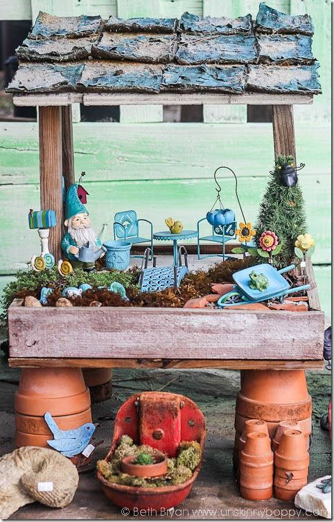 Gnome In Garden: 30 Best Gypsy Garden Creations Images On Pinterest