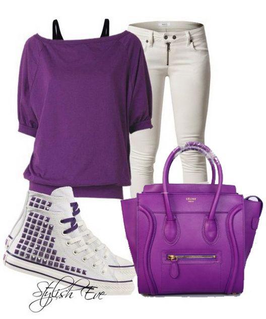 Celine Luggage Small Handbag Purple | Collection | Pinterest ...