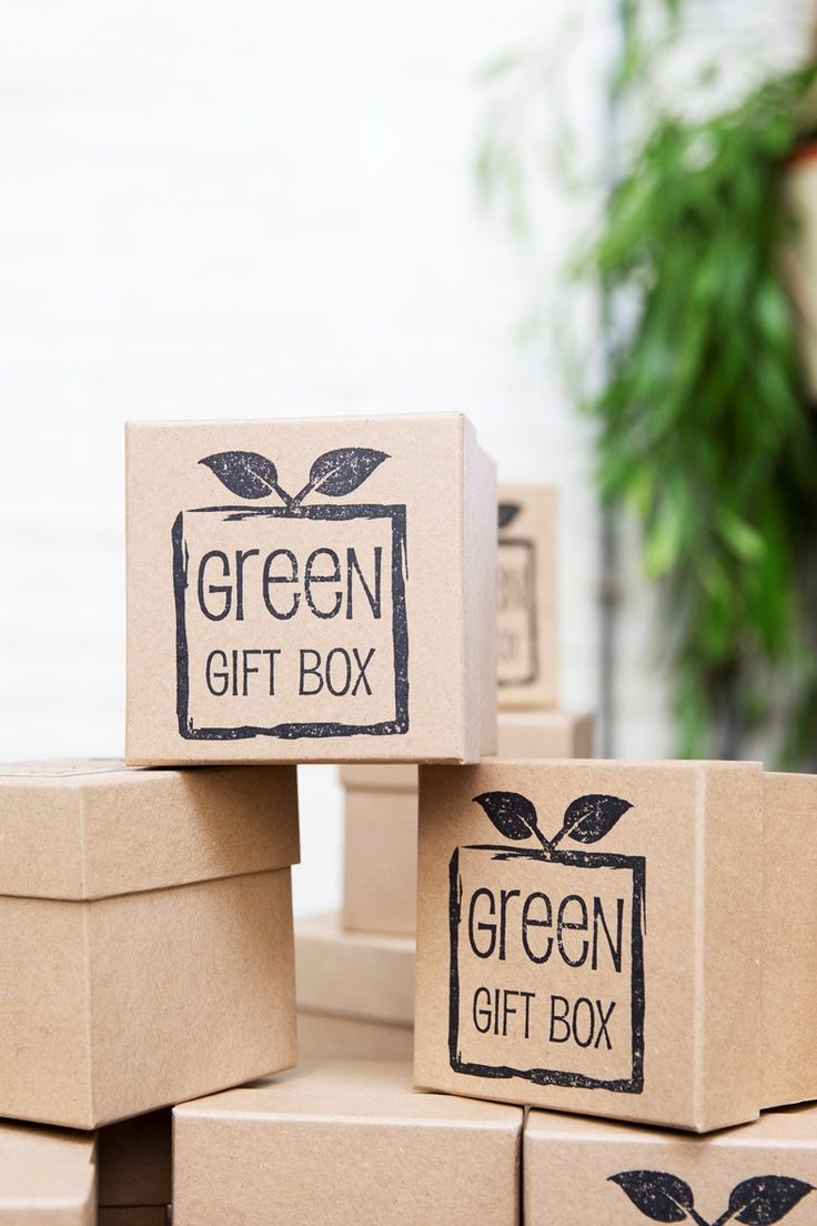 Green Gift Box - Stand 444