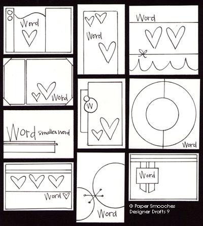 Paper Smooches: Designer Drafts 9