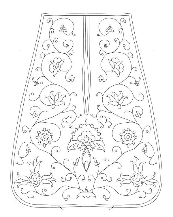 18th-century pocket pattern