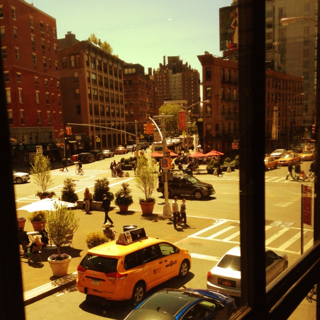 New York Meat Packing District - view from Apple Store