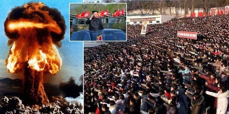 """Beritaragam.com - Liga Pemuda Korea Utara (Korut) menyiapkan """"lima juta bandit muda siap bertempur"""" untuk """"memusnahkan"""" Amerika Serikat (AS) dengan bom nuklir.   #Amerika-Serikat #AS #bandit-muda #Beritaragam #bertempur #bom #Korea-Utara #Korut #memusnahkan #nuklir"""