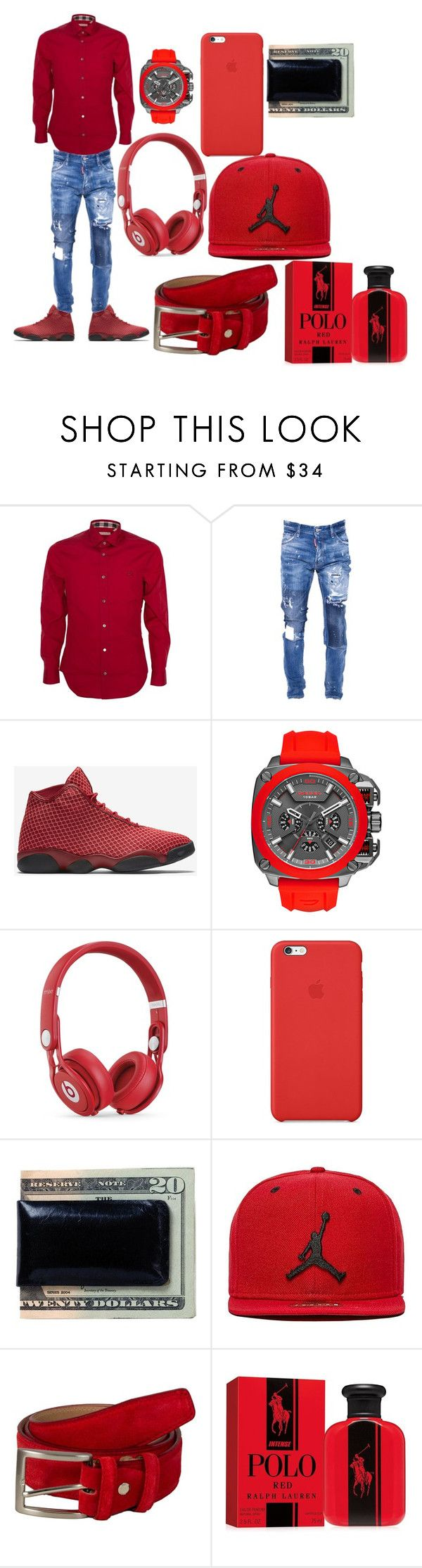 cool off by trebian ❤ liked on Polyvore featuring Burberry, Dsquared2, NIKE, Diesel, Beats by Dr. Dre, Apple, Moore Giles, Jordan Brand, Ralph Lauren and mens fashion