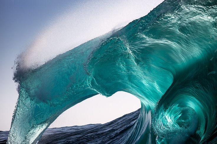 Живые морские волны на фотографиях Уоррена Килана
