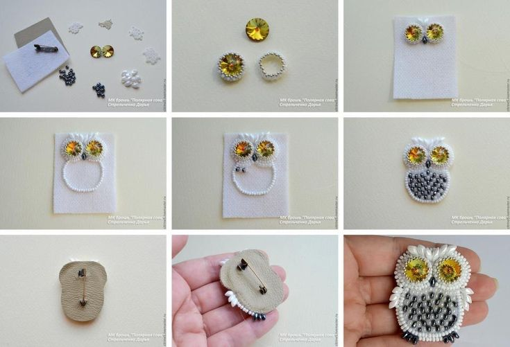 DIY Cute Beads Owl