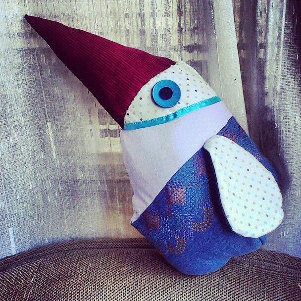 Ocell. #fetamà #handmade