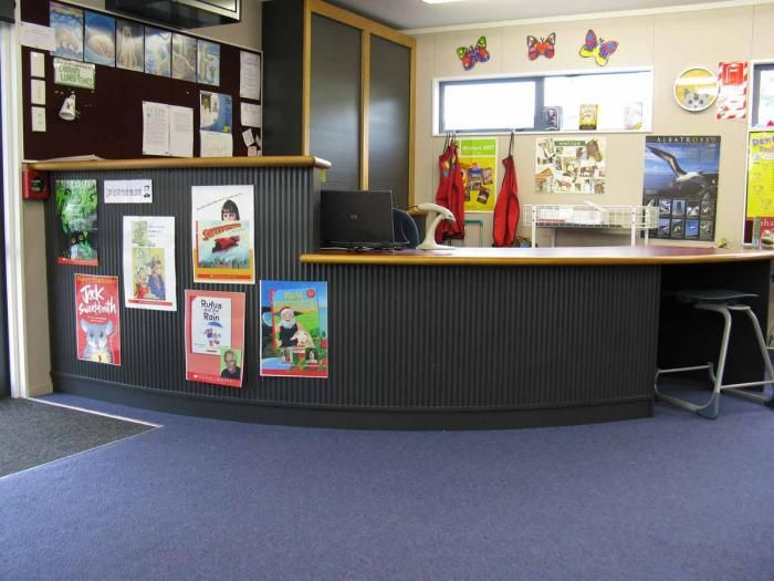Example of a two tier level school library issue desk. 41 best Primary School Library Furniture images on Pinterest