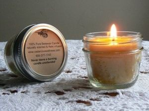 1000+ images about Beeswax Candles handcrafted at Cedar Cove ...