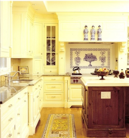 White Kitchen With Yellow Accents: 96 Best Home Decor Blue Yellow & White Images On Pinterest