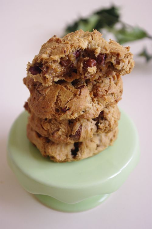 Cookies aux noix de pécan et chocolat Caramelia - Pecan and Valrhona Caramelia cookies | I Love Cakes