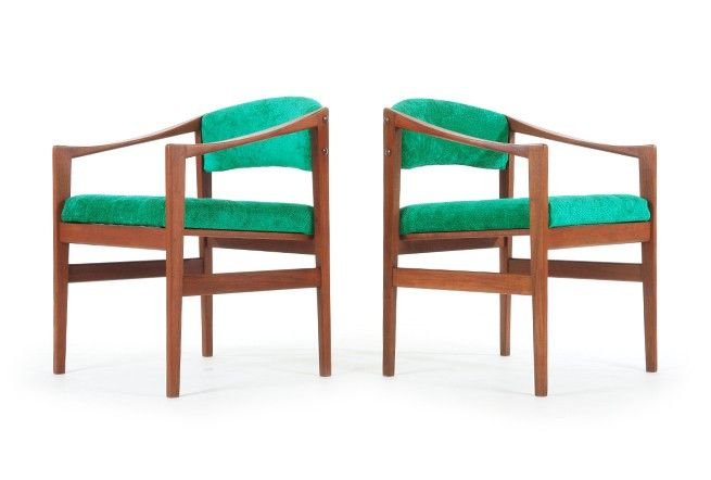 DUX Teak Side Chairs by Backhouse - Mr. Bigglesworthy Designer Vintage Furniture Gallery