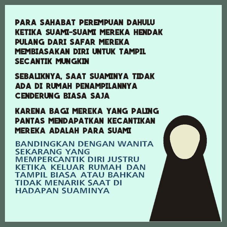Follow @NasihatSahabatCom http://nasihatsahabat.com #nasihatsahabat #mutiarasunnah #motivasiIslami #petuahulama #hadist #hadits #nasihatulama #fatwaulama #akhlak #akhlaq #sunnah  #aqidah #akidah #salafiyah #Muslimah #adabIslami #ManhajSalaf #Alhaq #Kajiansalaf  #dakwahsunnah #Islam #ahlussunnah  #sunnah #tauhid #dakwahtauhid #Alquran #kajiansunnah #salafy #berdandan #suami #berhias #tabaruj #istri #wanita #perempuan #dirumah #didepansuami #bedawanitasekarang #wanita #perempuan #istri