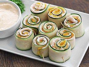 Originals Oven Roasted Turkey Cucumber Roll-ups   Dietz & Watson™