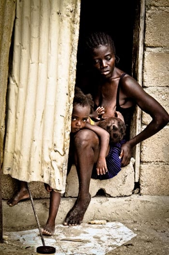 Real nude haitian village girls — pic 2