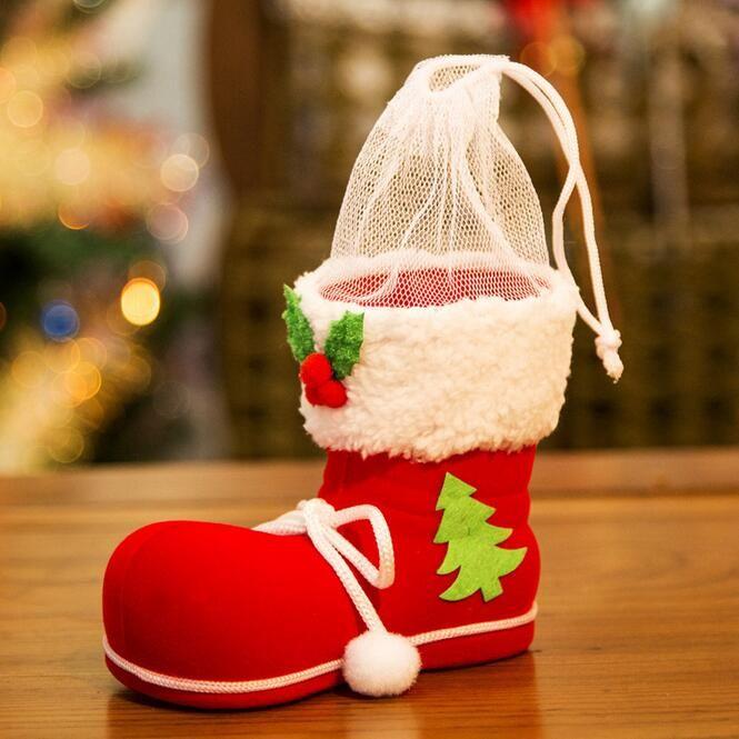 2016 neue Nette Schuhe Förmigen Weihnachtsdekoration Partybedarf Inneneinrichtungen Federbehälter Aufbewahrungsbox Candy Stiefel //Price: $US $128.00 & FREE Shipping //     #cocktailkleider