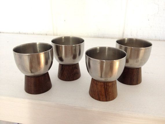 mid-century modern egg cups