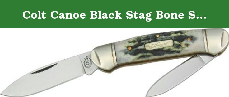 Colt Canoe Black Stag Bone Series Knives. Colt's manufacturing company (cmc, formerly colt's patent firearms manufacturing company) is an American firearms manufacturer, founded in 1855 by Samuel Colt. It is the successor Corporation to colt's earlier firearms-making efforts since 1836. Colt is known for the engineering, production, and Marketing of firearms, most especially between the 1850S and world War I, when it was a dominating force in its industry and a seminal influence on...