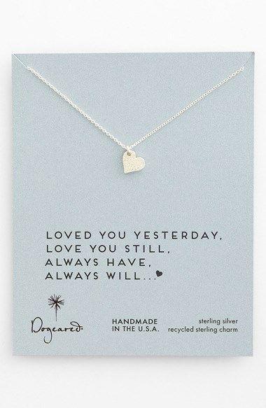 Dainty Sweet Love Heart Necklace