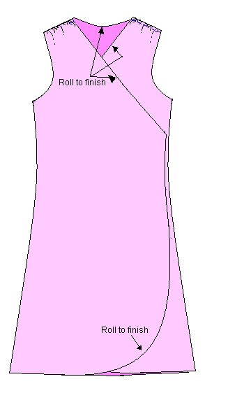 Wrap Dress Tutorial - create your own pattern.