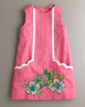 Lilly Pulitzer Skip On It Little Lilly Dress, Hotty Pink Multi