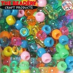 The Beadery HaarKralen Mix PartyTime (50st)
