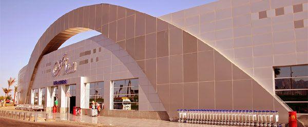 Sharm el-Sheikh International Airport Egypt Africa's third busiest Airport