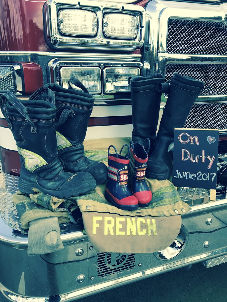 Firefighter Pregnancy Announcement