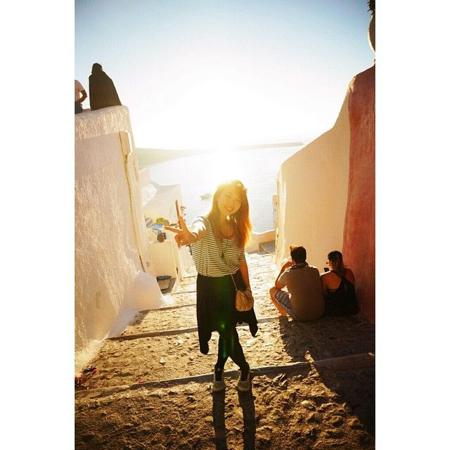 Is the #Sunset? Is the people? #Santorini Photo credits: @bestsj