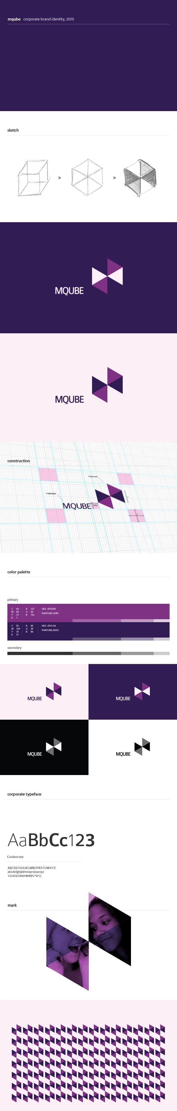 Logo design for mqube