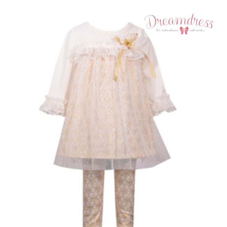 Festliche Kindermode jetzt auf Dreamdress.at #LeggingSet, #mädchen, #girl, #girlfashion, #kindermode, #festtagsmode, #bridal, #babyfashion, #littleFashionista