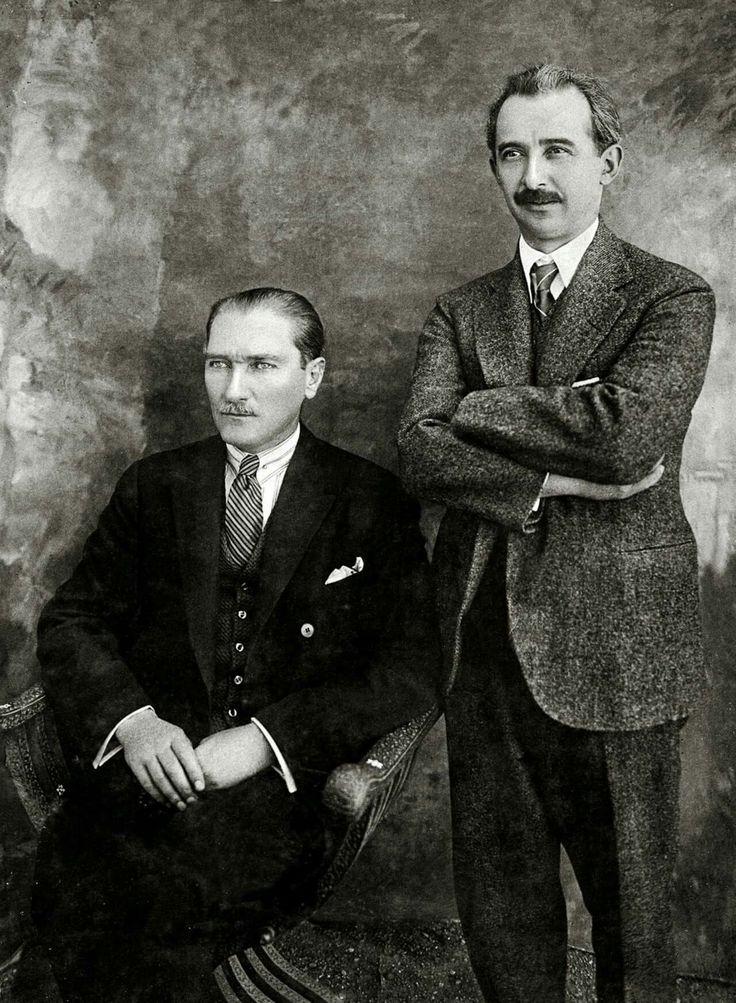 Mustafa Kemal Atatürk ve İsmet İnönü