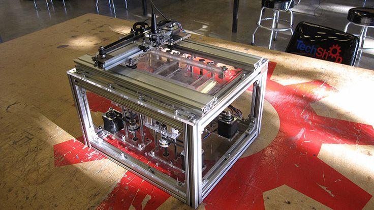 OpenSLS Impressora 3D a laser de código aberto