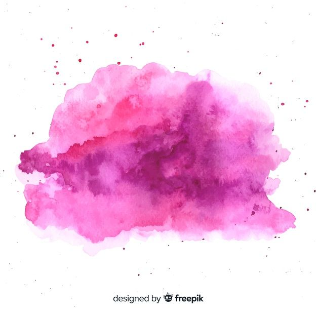 Download Watercolor Stain With Abstract Shape For Free In 2020