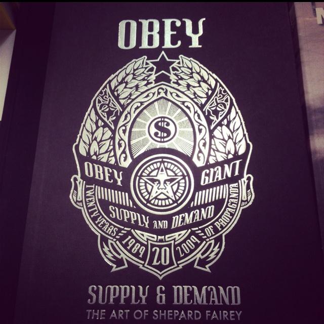 Obey : Supply & Demand #book #streetart