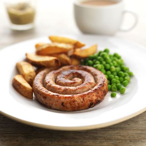 Cumberland Ring Sausages. The classic British sausage - perfectly coiled to its traditional shape of a ring. Freshly hand made by Campbells in Linlithgow to our own family recipe.
