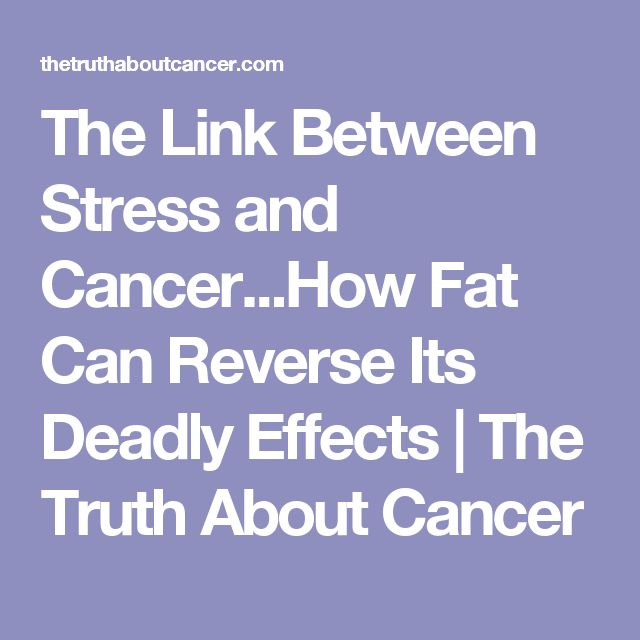 how stress effects cancer survival Stress is essential for survival the chemicals it triggers help the body prepare to face danger and cope with difficulty long-term stress is linked to various health conditions and can cause.